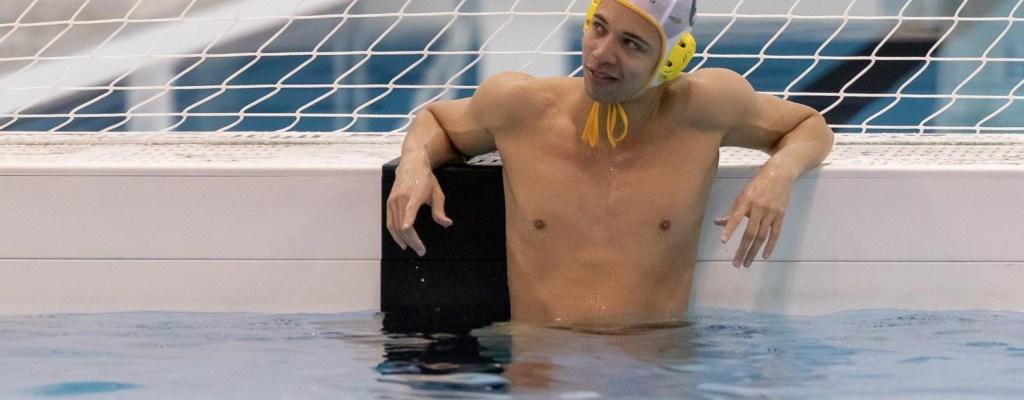 Waterpolo Den Haag team H1 tegen VZC H1
