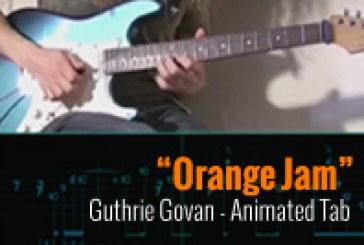 Guthrie Govan – Orange Jam Lesson – Tablatura Animada