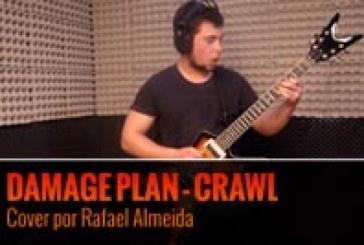 DAMAGE PLAN – CRAWL – Cover por Rafael Almeida