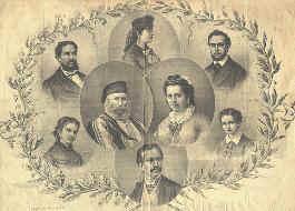 Il matrimonio con l'Armosino e altri sei figli
