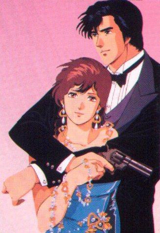 Ryo Saeba und Kaori Makimura