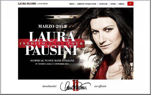 INEDITO WORLD TOUR. LAURA PAUSINI. LE DATE