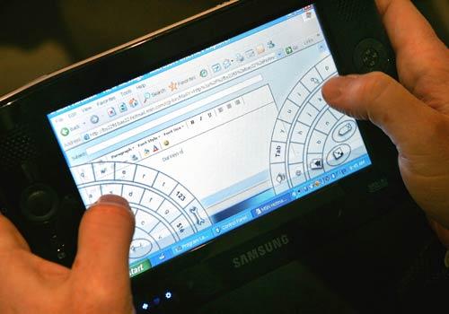 Tastiera su schermo