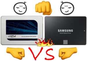 Crucial MX500 vs Samsung 860evo -big