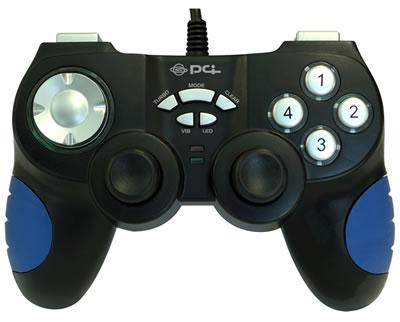 PC、PS3両対応のコントローラー登場。しかも振動機能付き