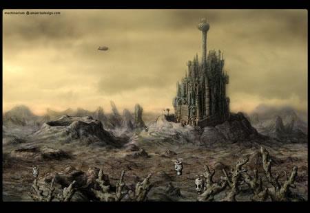 魅力的な世界観のゲーム「machinarium」