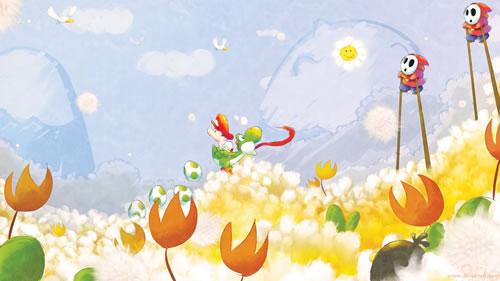 レトロゲーのプレイ画面を今風にアレンジした壁紙7枚