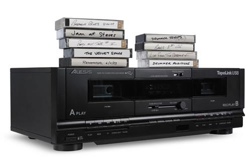 アレシス、カセットテープの音源をデジタル化して取り込めるUSBダブルカセットデッキを発売