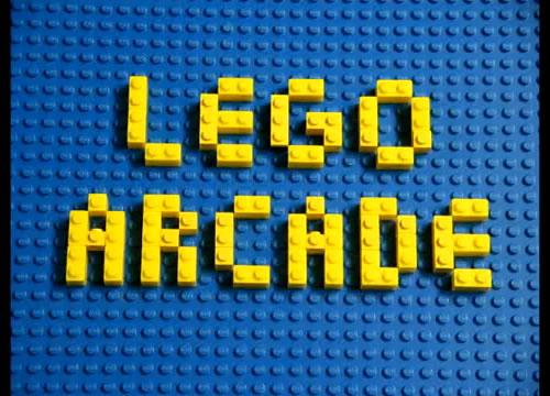 このセンスが素晴らしい! LEGOブロックで昔懐かしのアーケードゲームを再現