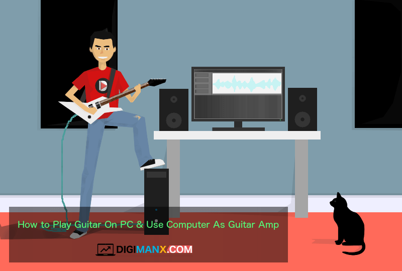 use PC as guitar amplifier