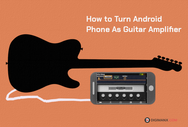 Play guitar on Android