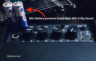 Mini Battery-powered Guitar Amp