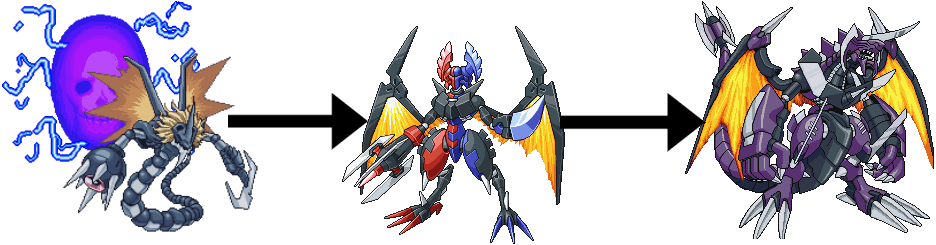 Digimon World Dusk Armor Digivolve