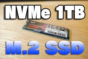 シリコンパワー SSD 1TB NVMe