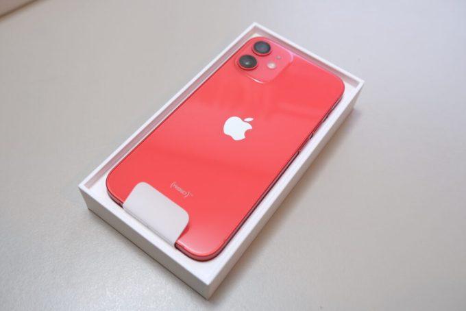 iPhone12mini アイフォン レッド アップル apple