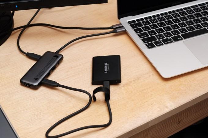 USB-C HUB MacBookAir ハブ