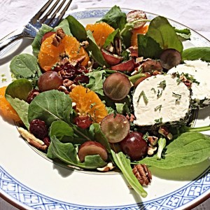 Orange and Chevre Sunshine Salad