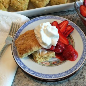Strawberry Rhubarb Shortcakes