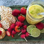 Use any citrus juice to create a gluten free curd, perfect for Passover!