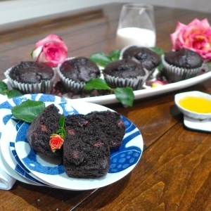 Chocolate and Honey Cupcakes