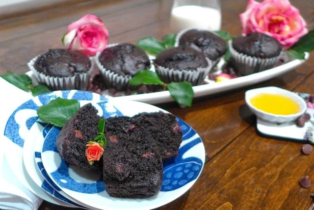 Chocolate and Honey Cupcakes