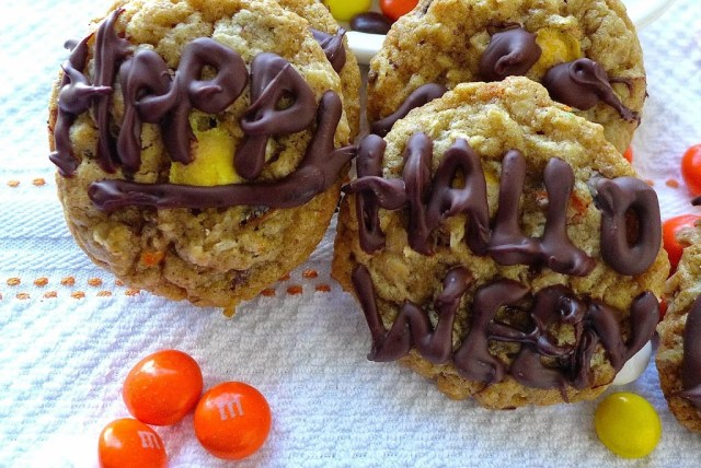 Oatmeal Candy Cookies
