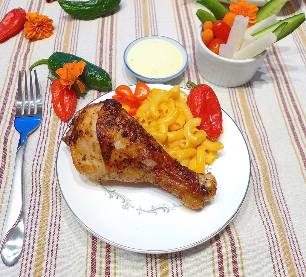 Easy Spicy Broiled Chicken