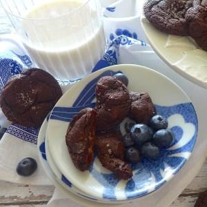Double Chocolate Caramel Cookies