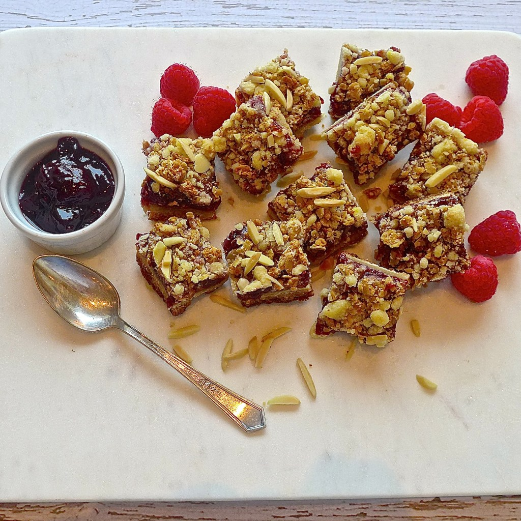 Dig in to raspberry shortbread bars and be sure to share and tag your posts #diginwithdana. Recipe and ideas at diginwithdana.com