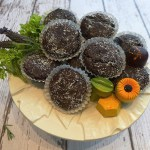 Flourless Brownie Bites