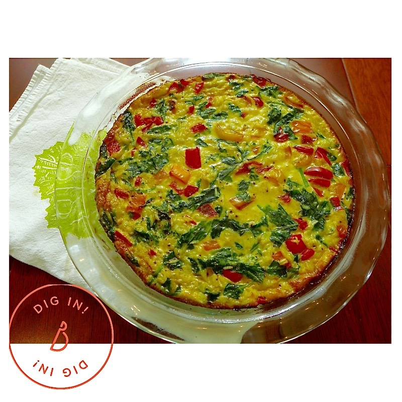 Pepper 'N Rice Bake