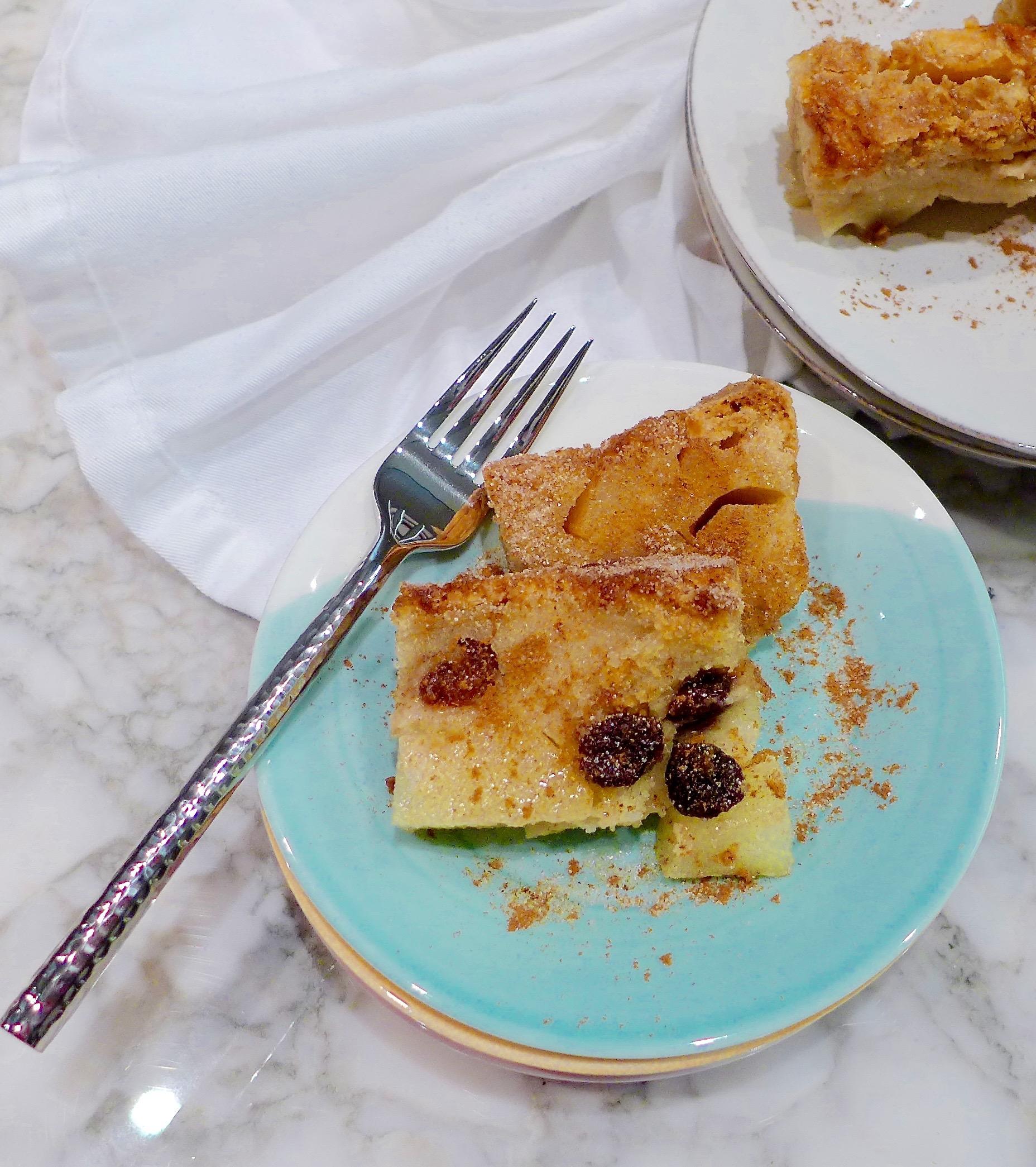 Apple Pie Cake and Pear Cherry Cake