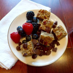 One Bowl Blondies (can be GF or Vegan)