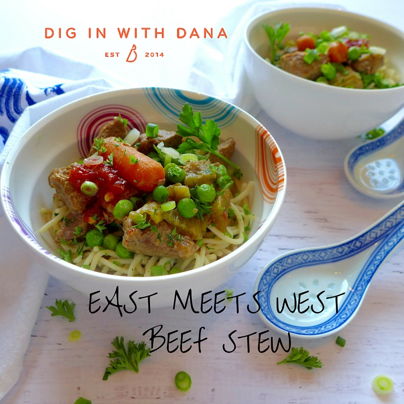 Digi In to East Meets West Beef Stew!