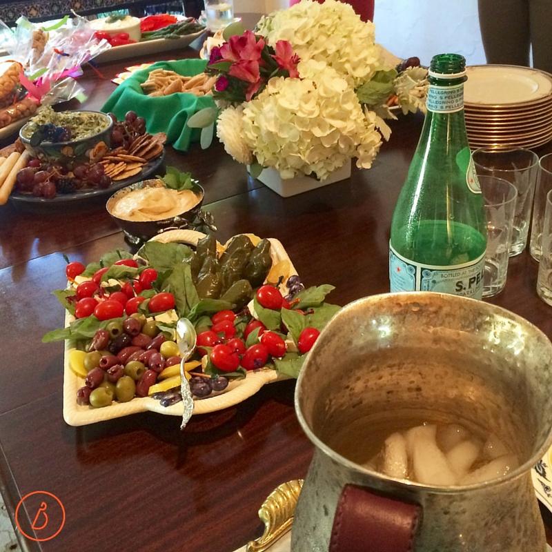 Mediterranean Appetizer Party