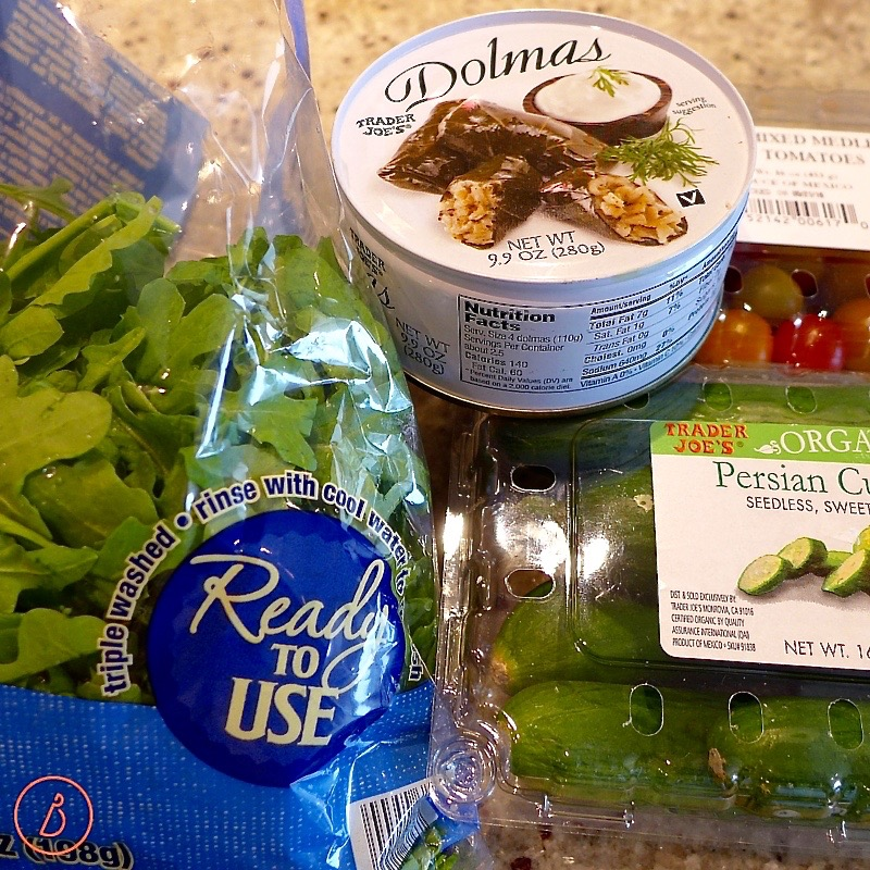 My go to favorittes for a Mediterranean appetizer, lunch or light dinner
