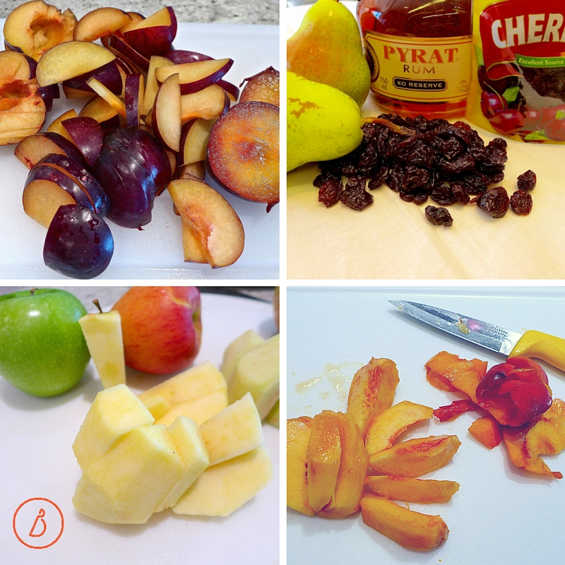 Slice fresh fruit, sprinkle with a little juice to keep it from browning and refridgerate for an anytime healthy snack, alone or with cheese and crackers!