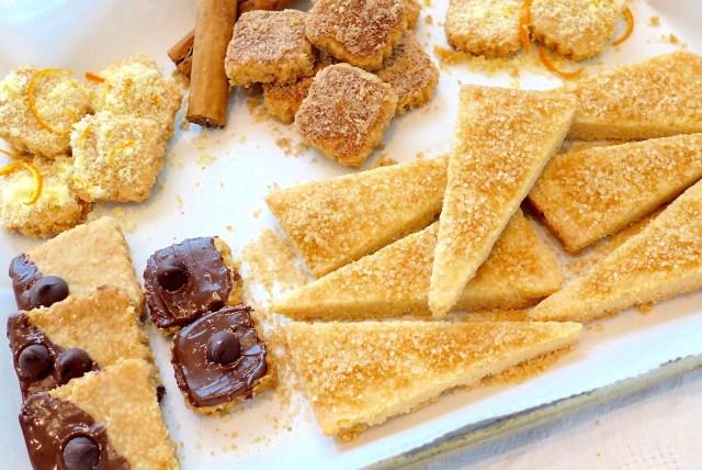 Simple Crunchy Shortbread