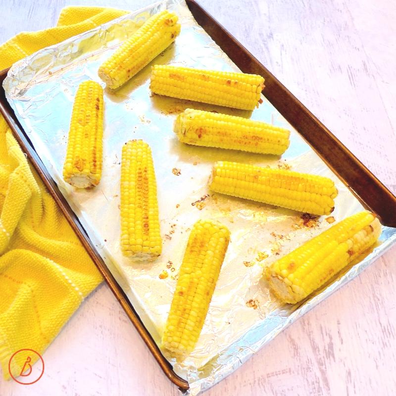 Roast or grill corn till slightly charred. Recipe for Mexican Corn Salad at diginwithdana.com