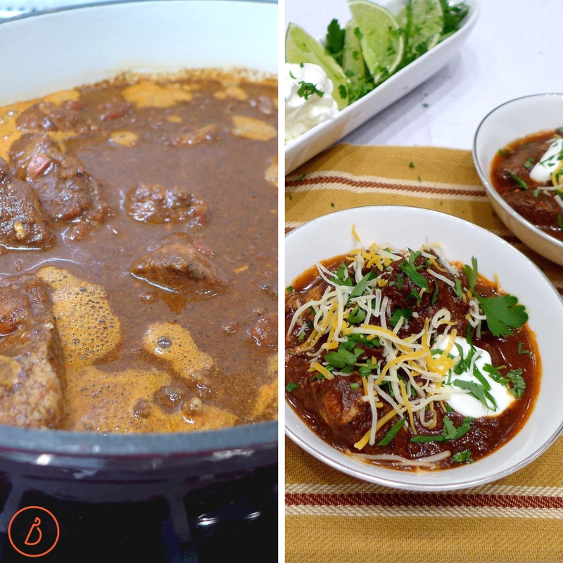 From stovetop to dinner table, Mexican Pork Stew recipe and helpful tips at diginwithdana.com