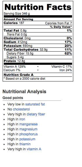 Nutritional Information for Quick Greek Lentil Soup. Makes 10 servings. Recipe and ideas at diginwithdana.com