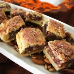 Donia's Cinnamon Date Bar Recipe and helpful photos at diginwithdana.com