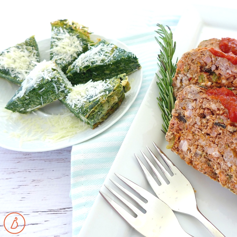 Just add a green vegetable to Simple Paleo Meatloaf for an easy low carb dinner your whole family will love. Recipe at diginwithdana.com