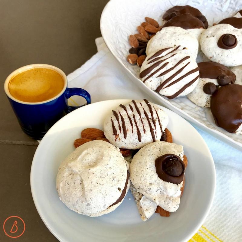 Overnight Meringue Cookies. #sixingredients #glutenfree #passovercookies #easybaking Recipe at diginwithdana.com