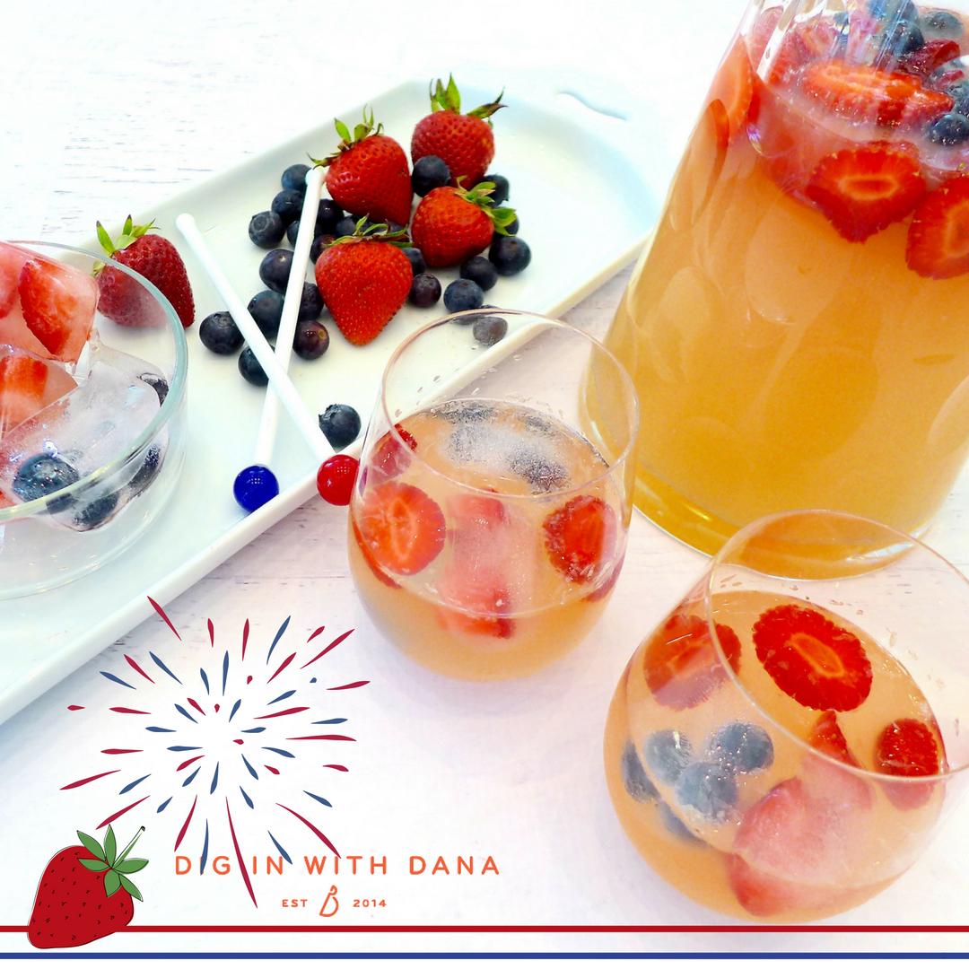 Strawberry Spiked Limeade Recipe and variations at diginwithdana.com