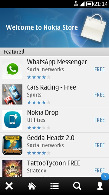 Ovi Store Apps Download