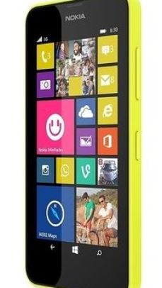 Nokia Lumia 630 Yellow