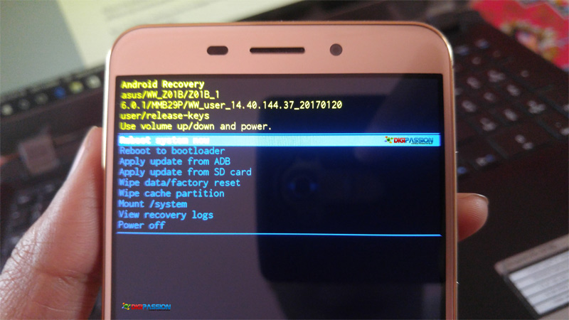 How to boot Asus Zenfone devices (Zenfone 3, Zenfone2) into Android