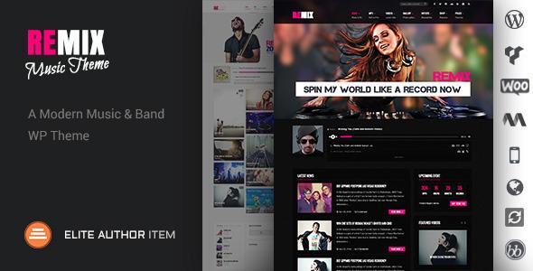 Remix - WordPress Entertainment Themes