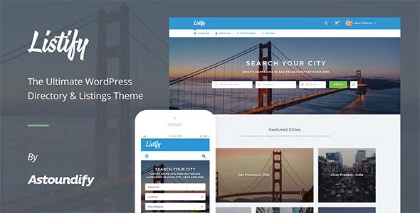 Listify - WordPress directory themes